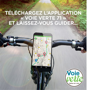 Application Voie Verte 71