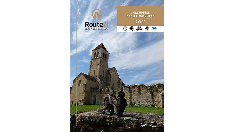 Calendrier Rando Loire 2022 Calendrier des randonnées 2021 | Destination Saône et Loire