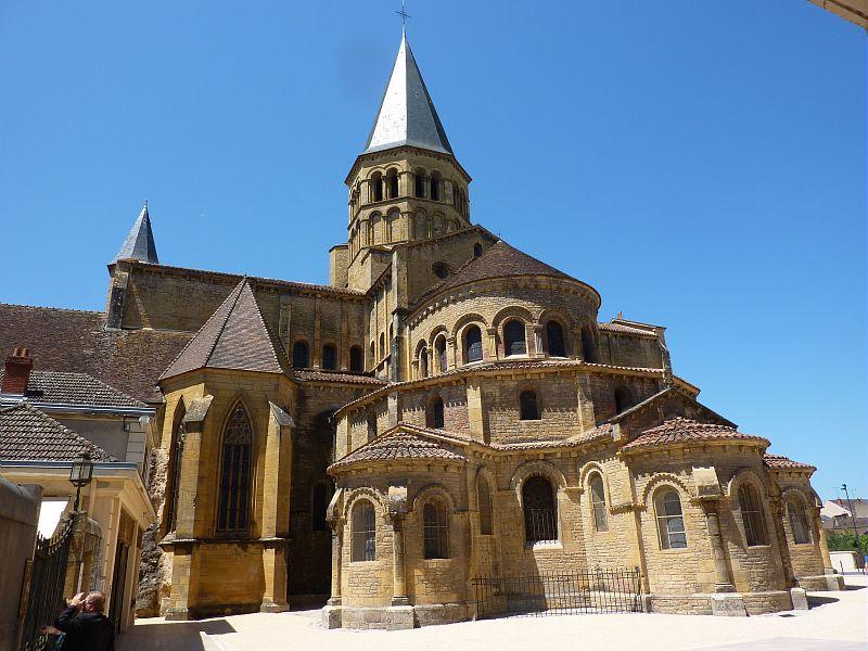 Paray Le Monial Basilique Du Sacr Coeur Chevet