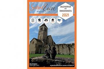 Calendrier Des Randonnées En Saone Et Loire 2021 Brochures de Destination Saône & Loire